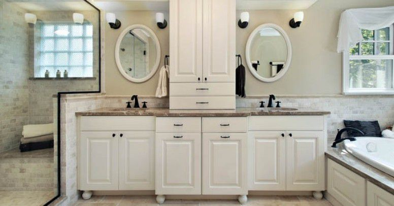 Wyposażamy łazienkę Nowoczesne Zestawy Mebli łazienkowych