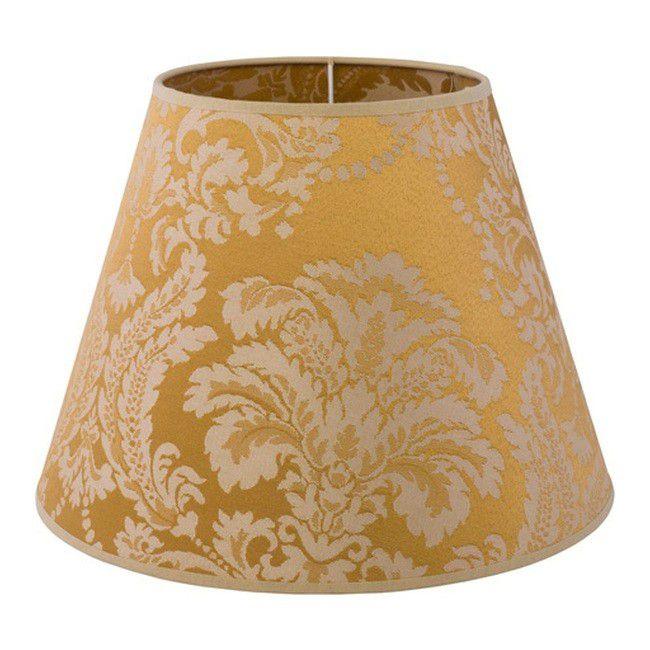 Abażur Do Lampy Biurkowej Romance Barok Złoty