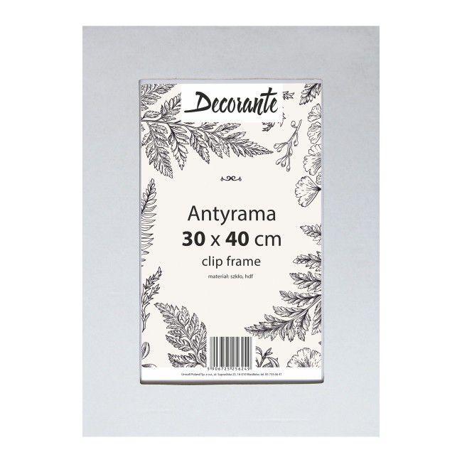 Antyrama szklana 30 x 40 cm - Antyramy - Obrazy i ramiarstwo ...