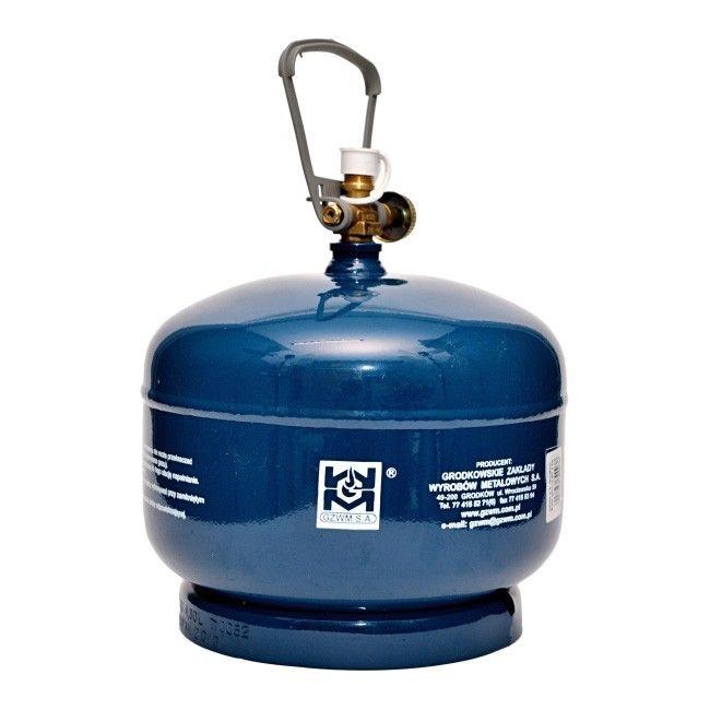 Butla turystyczna 2 kg  Butle gazowe  Kemping  Relaks w ogrodzie  Ogród