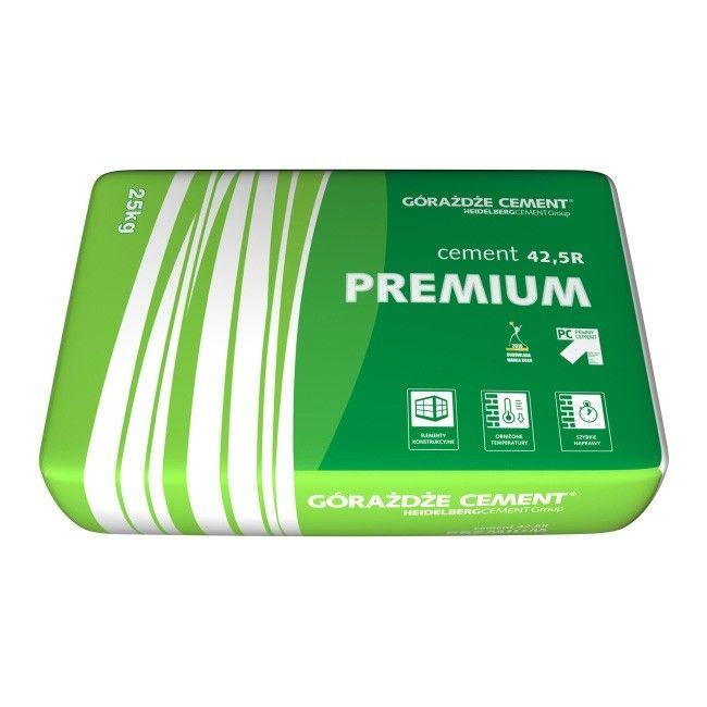 Cement Gorazdze Premium 42 5r 25 Kg Cement Budowlany Castorama