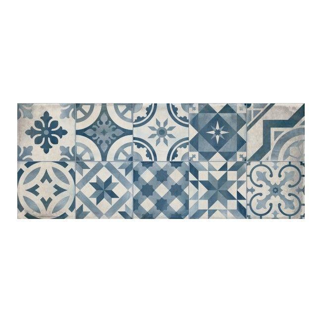 Dekor Montblanc 20 X 50 Cm Niebieski 12 M2