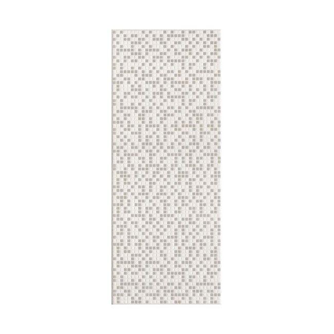 Dekor Pixel Ceramika Color 25 X 60 Cm Bialy