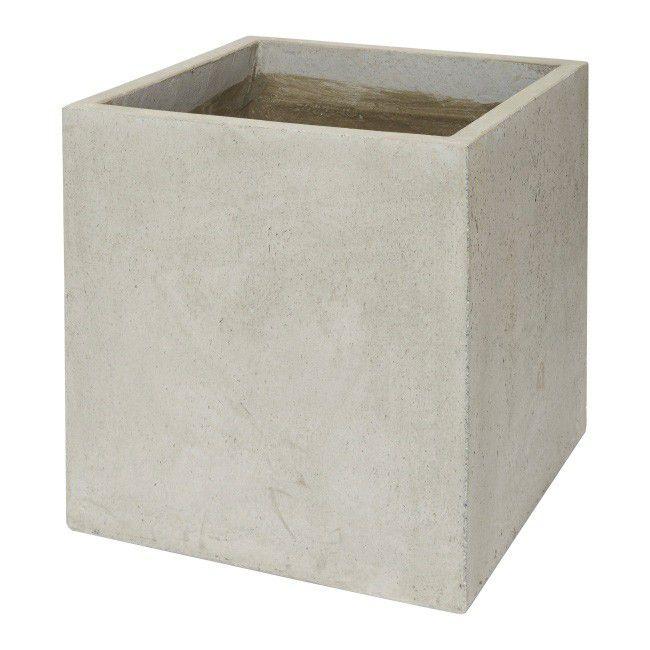 Donica Verve Efekt Cementu 50 Cm Szara