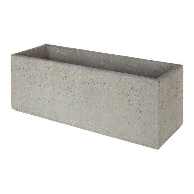 Donica Verve Efekt Cementu 80 Cm Szara