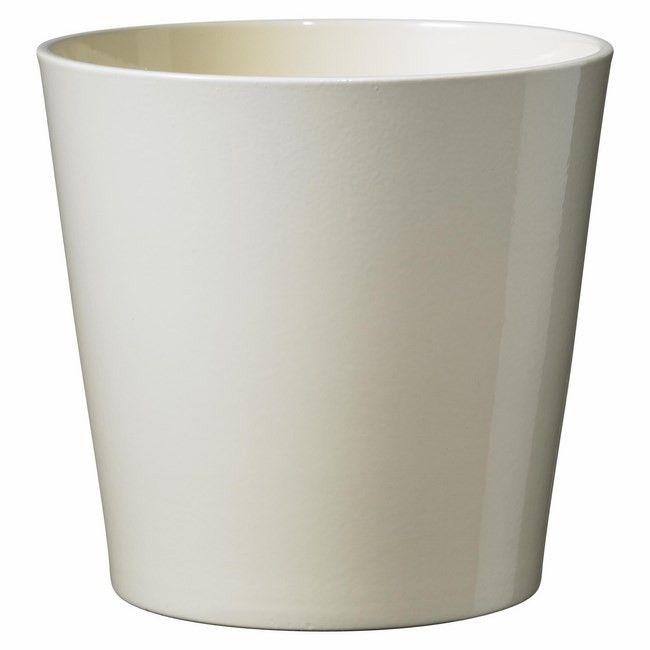 Doniczka Ceramiczna Sk Soendgen Keramik Dallas Vanila 28 Cm