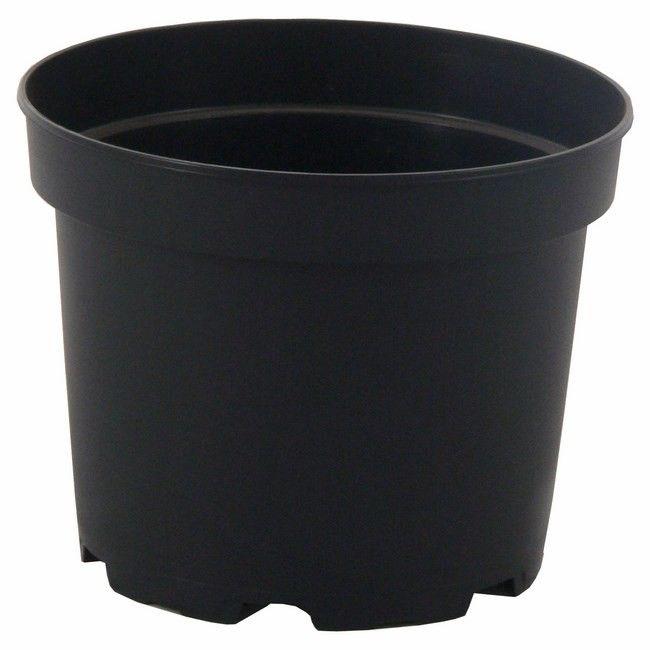 Doniczka Produkcyjna 21 Cm Czarna Donice Wewnętrzne