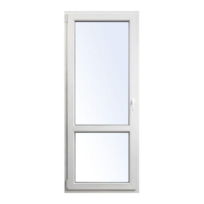 Drzwi Balkonowe Pcv Rozwierno Uchylne 865 X 2095 Mm Lewe
