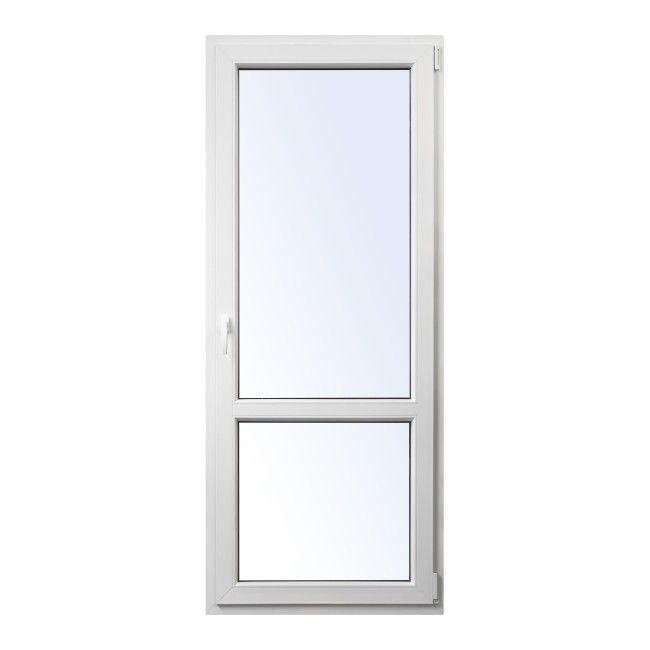 Drzwi Balkonowe Pcv Rozwierno Uchylne 865 X 2095 Mm Prawe