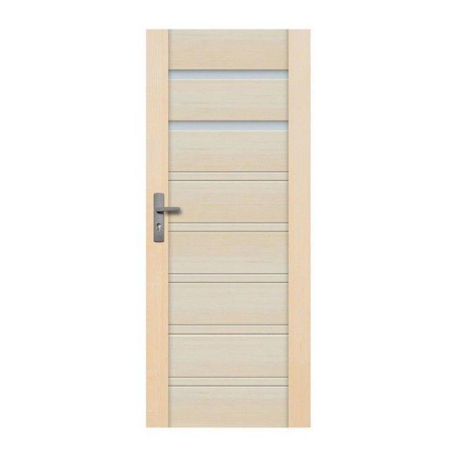 Drzwi łazienkowe Radex Malaga 60 Prawe Sosna Surowa
