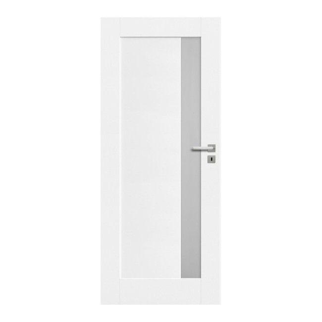 Drzwi Pokojowe Fado 80 Lewe Kredowo Biale Drzwi Jednoskrzydlowe Castorama