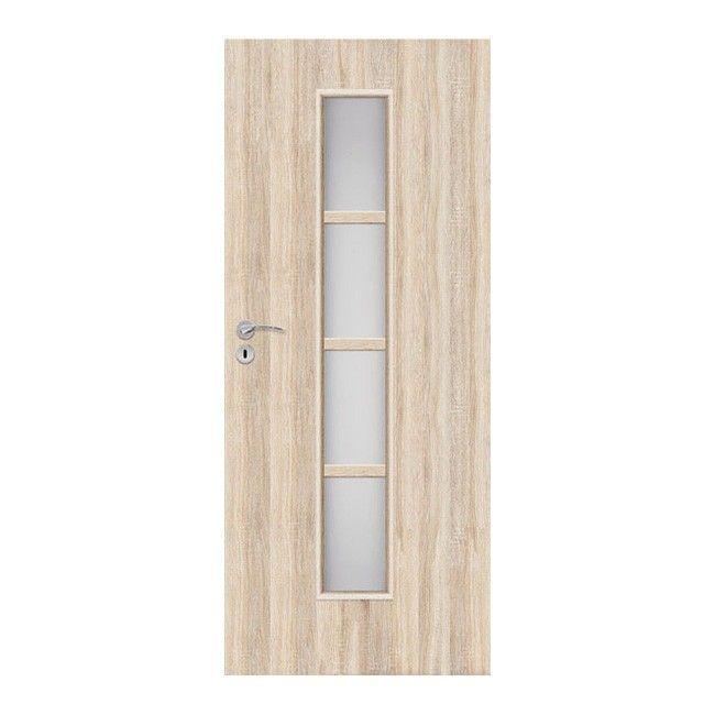 Drzwi Pokojowe Olga 80 Prawe Dąb Sonoma
