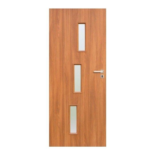 Drzwi pokojowe roma 80 lewe akacja drzwi jednoskrzyd owe for Castorama roma