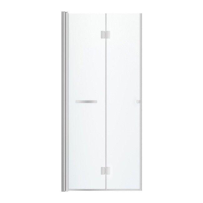 Drzwi Prysznicowe Składane Cookelewis Beloya 90 Cm Chrom