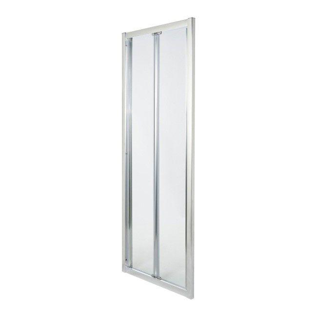 Drzwi Prysznicowe Skladane Onega 90 Cm Chrom Transparentne Scianki I Drzwiczki Castorama
