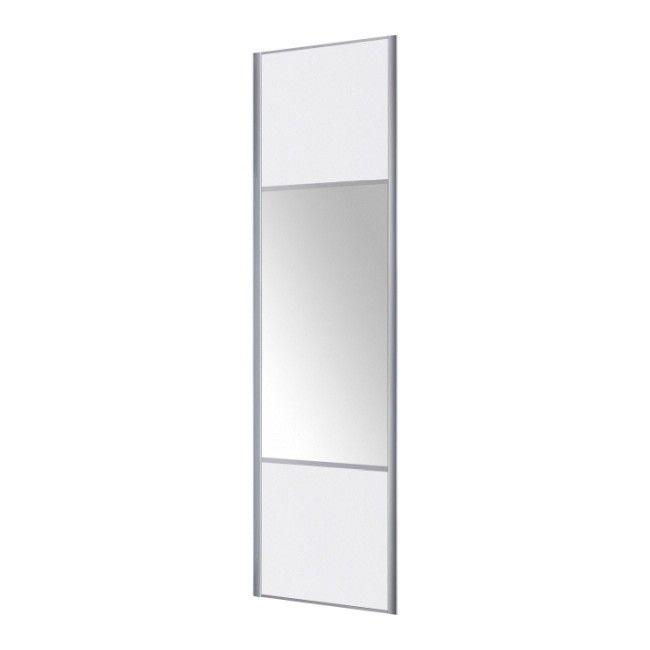 Drzwi Przesuwne Form Valla Lustro 247 5 X 77 2 Cm Biale