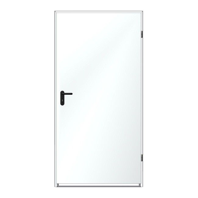 Niesamowite Drzwi stalowe - drzwi techniczne stalowe zewnętrzne i wewnętrzne JR39