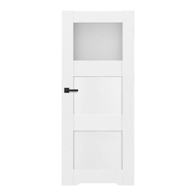 Drzwi Z Podcięciem Tre 70 Prawe Białe