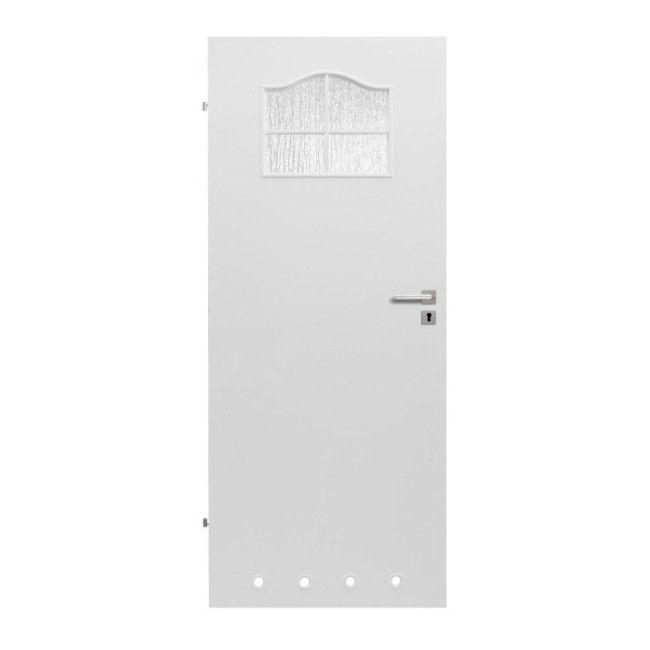 Drzwi Z Tulejami Klasyk 60 Lewe Białe Drzwi