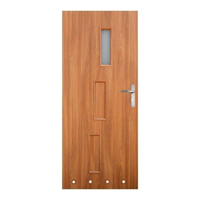Drzwi z tulejami roma 70 lewe akacja drzwi for Castorama roma