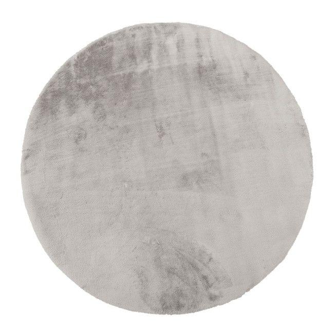 Dywan okrągły Bella 80 cm szary Dywany Castorama