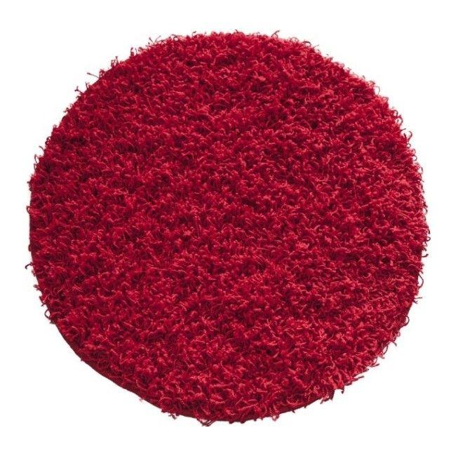 Dywan Okrągły Rumba 67 Cm Czerwony