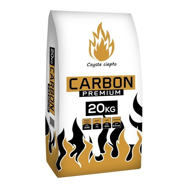Ekogroszek Carbon 28 Mj Kg 20 Kg Paliwa Do Kotlow Castorama