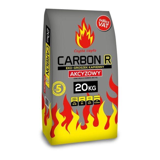 Ekogroszek Carbon R Akcyzowy 26 Mj Kg 20 Kg Paliwa Do Kotlow Castorama