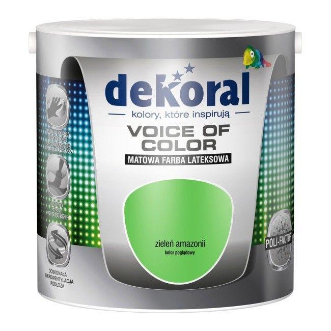 Farba Dekoral Voice of Color zieleń Amazonii 2,5 l