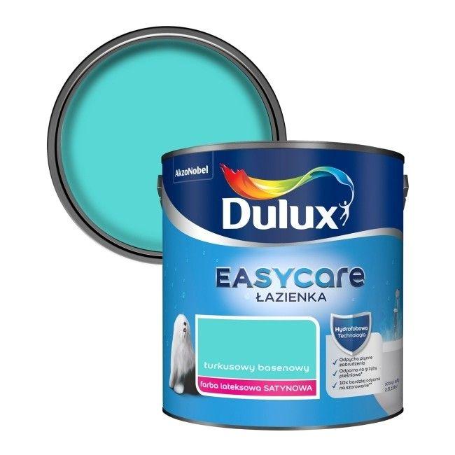 Farba Dulux Easycare łazienka Turkusowy Basenowy 25 L