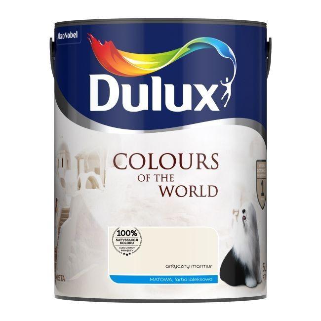 Farba Dulux Kolory świata Antyczny Marmur 5 L