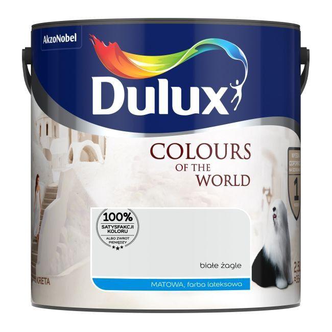 Ogromnie Farba Dulux Kolory Świata białe żagle 2,5 l - Farby kolorowe IK01