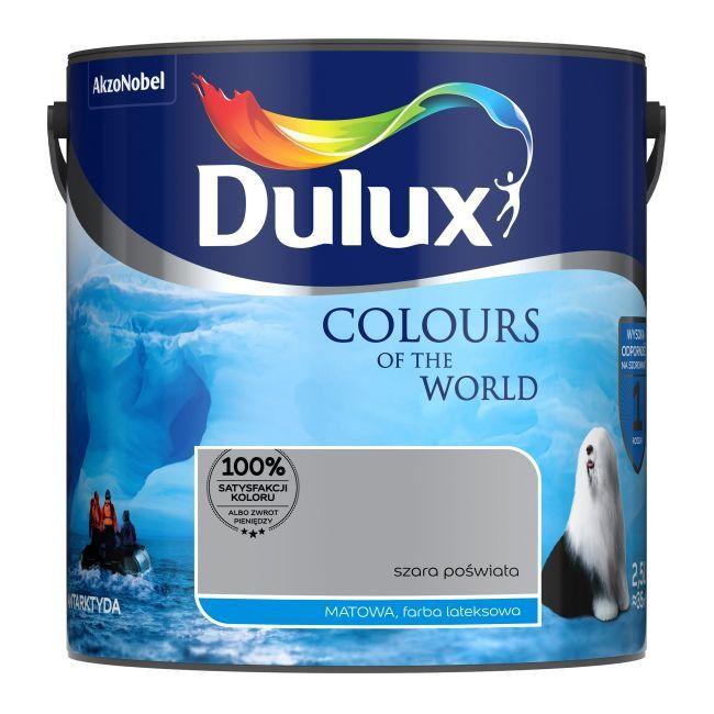 Farba Dulux Kolory świata Szara Poświata 25 L Farby
