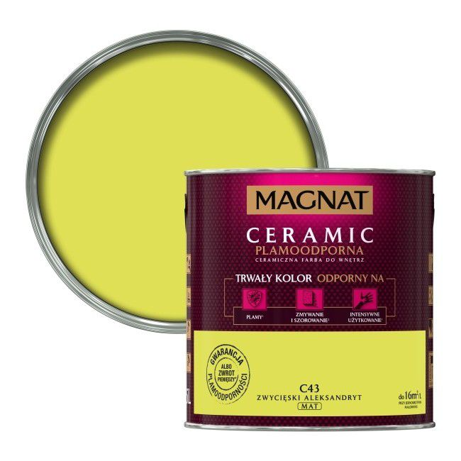 Farba Magnat Ceramic Zwycieski Aleksandryt 2 5 L Farby Kolorowe