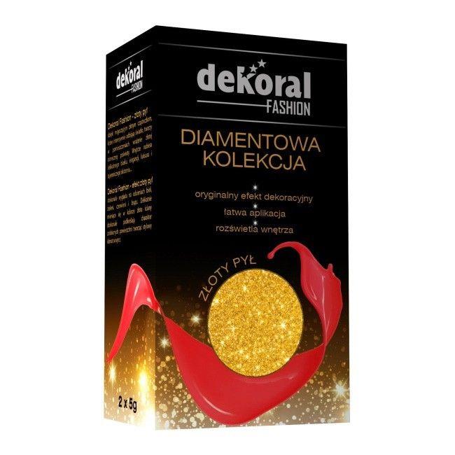 Farba Dekoracyjna Dekoral Diamentowa Kolekcja Złoty Pył 10 G