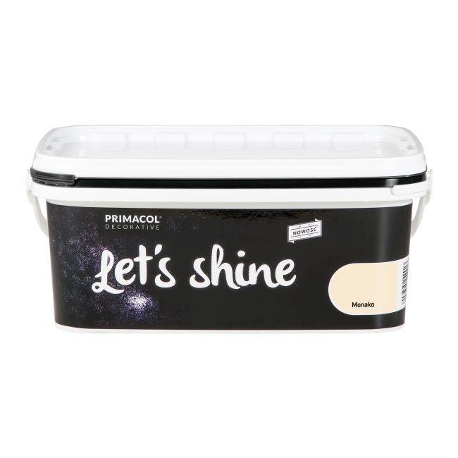 Farba dekoracyjna Primacol Let's Shine Monako beżowa 2 l