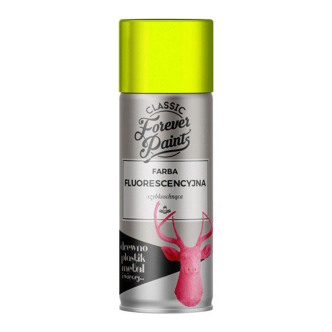 Farba Fluorescencyjna Szybkoschnaca Forever Paints 400 Ml Zolta