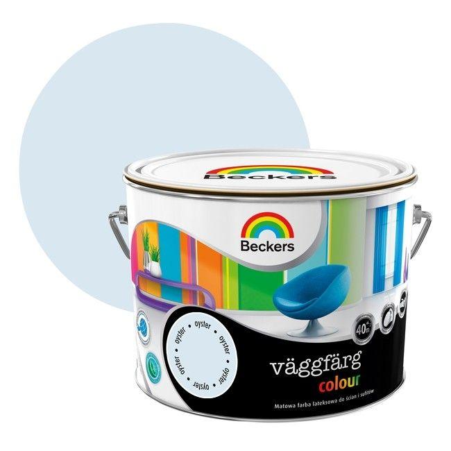 Farba Lateksowa Beckers Vaggfarg Colour Oyster 25 L