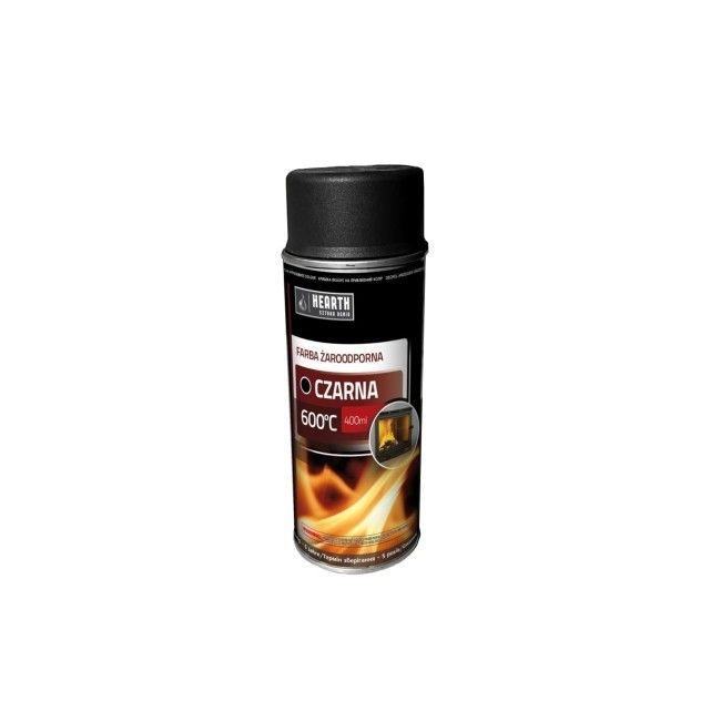 Farba Zaroodporna Hearth 600 C Czarna 0 4 L Farby Do Metalu Emalie