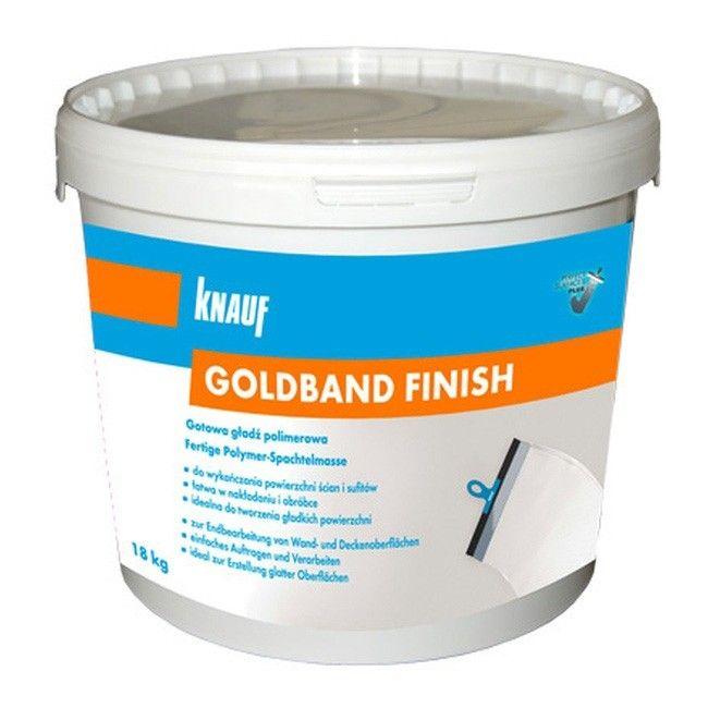 Gładź Gotowa Knauf Goldband Finish 18 Kg