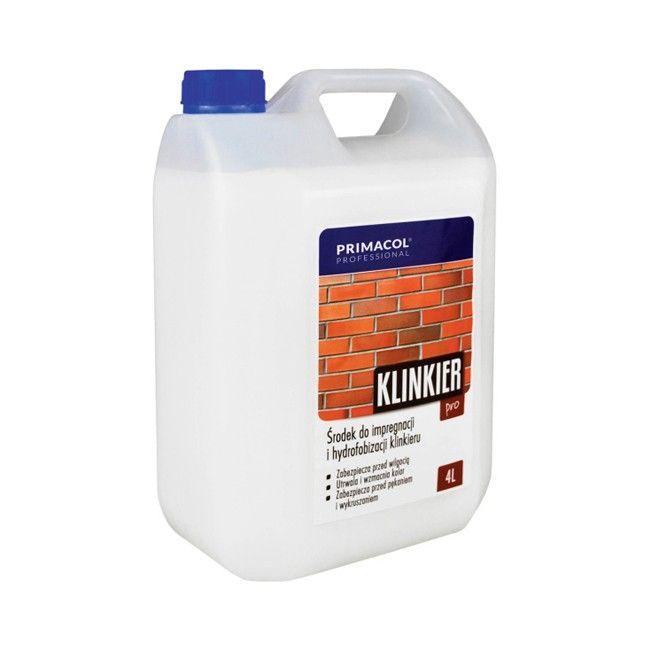 Impregnat Do Klinkieru Primacol Klinkier Pro 4 L Srodki Czyszczace Castorama