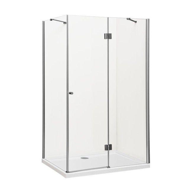 kabina prysznicowa prostok tna durasan livorno 80 x 100 x 190 cm chrom transparentna prawa. Black Bedroom Furniture Sets. Home Design Ideas