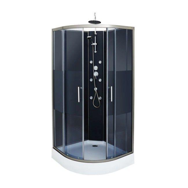 Kabina Prysznicowa Z Hydromasażem Cookelewis Dalia 90 X 90 X 225 Cm