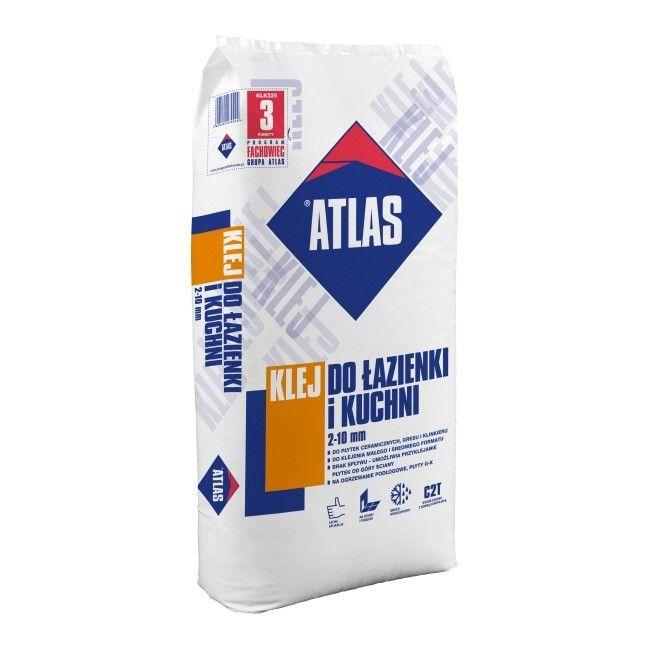 Klej Atlas Do łazienki I Kuchni C2t 225 Kg Kleje I