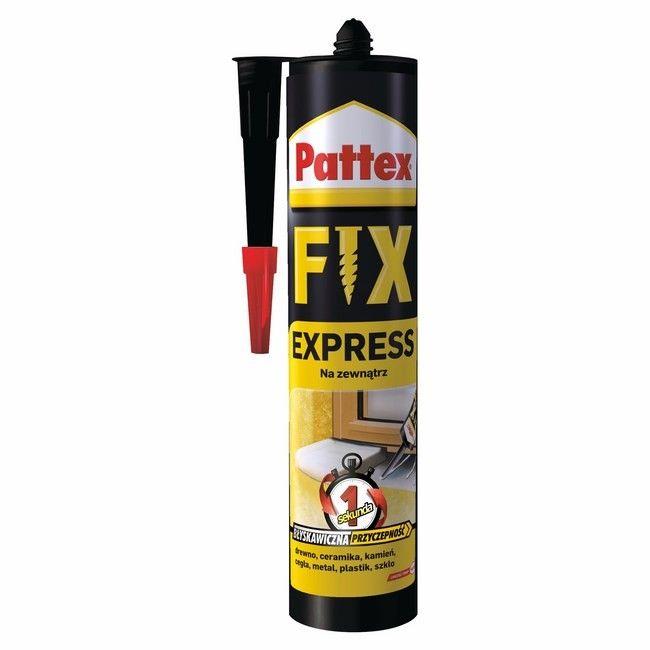 Klej Montazowy Pattex Express Fix 375 G Kleje Castorama