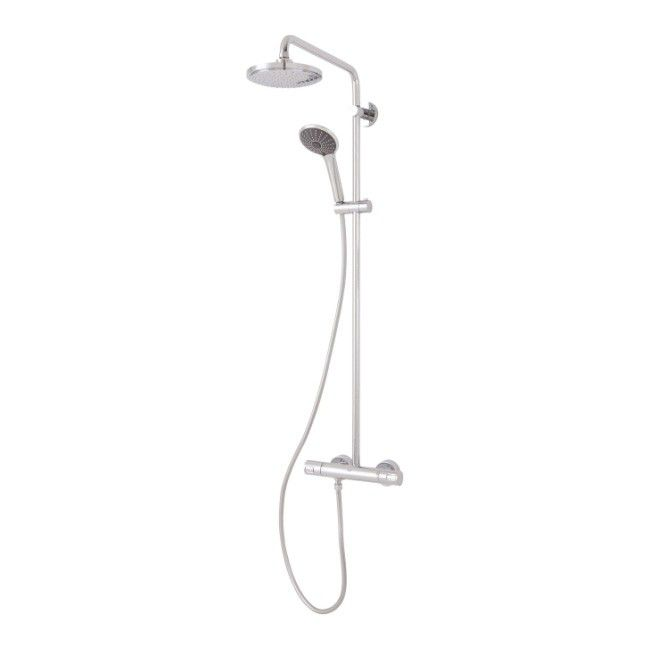 Kolumna Prysznicowa Grohe Vitalio Joy Sr 18 Cm 1 Funkcyjna Z Bateria Termostatyczna Kolumny Prysznicowe Castorama