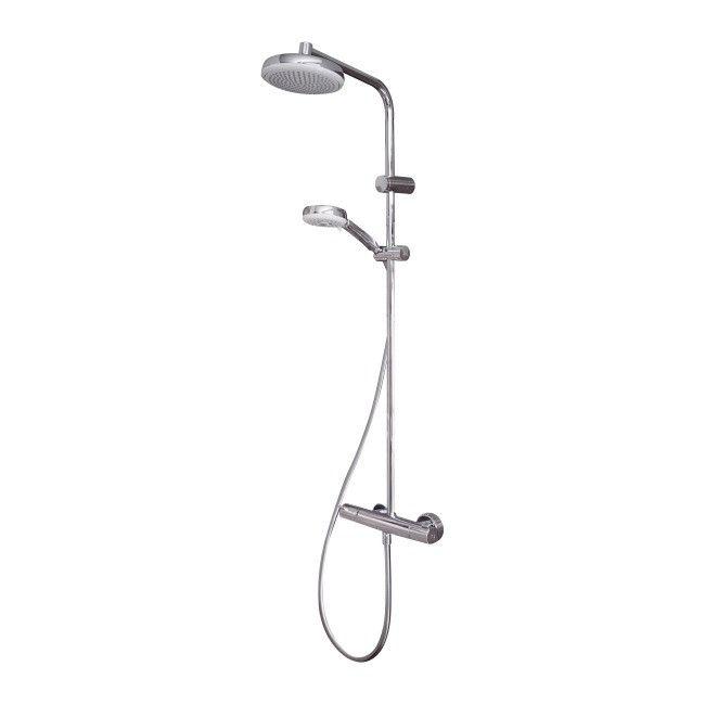 Kolumna Prysznicowa Hansgrohe My Club Sr 18 Cm Z Bateria Termostatyczna Kolumny Prysznicowe Castorama