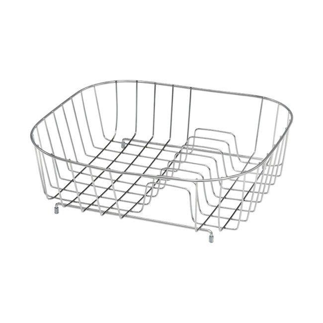 Koszyk Metalowy Do Zlewu Prostokątny 345 X 315 X 11 Cm