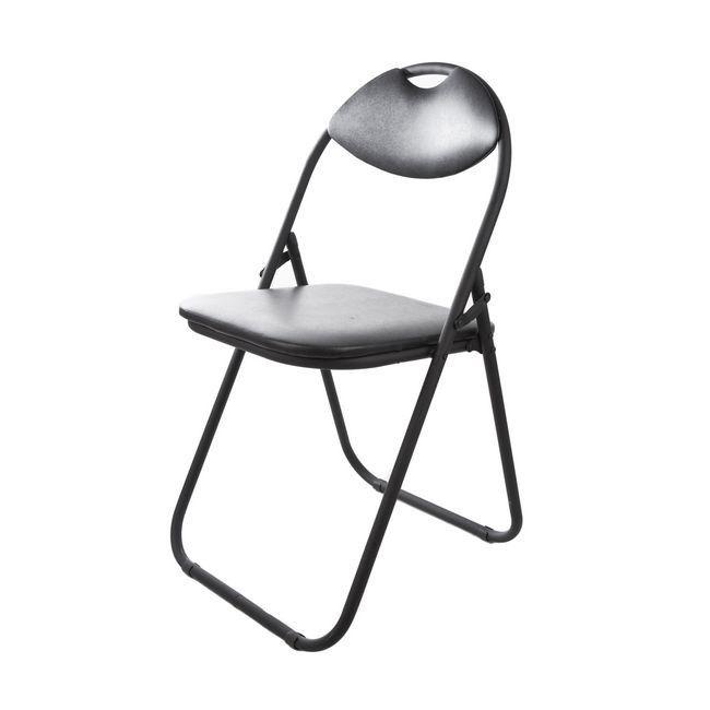 Krzesło Skladane Domino Czarne