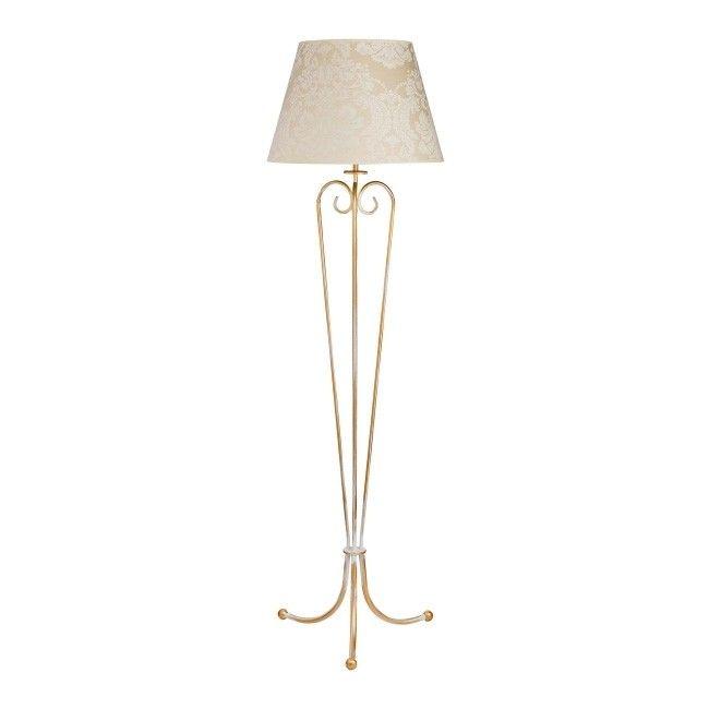 Lampa podłogowa Sofia 1 x 60 W E27 kremowa